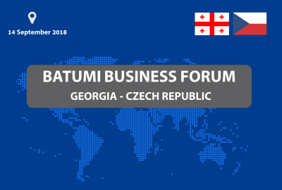 "Business Forum ""Georgia-Czech Republic"""