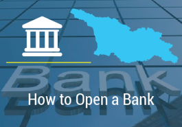 HOW TO OPEN BANK IN GEORGIA?